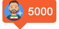 5000فالوور ایرانی